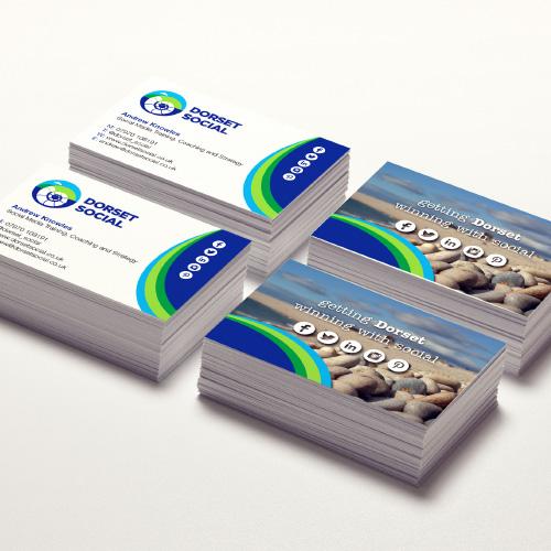 Dorset Social business cards