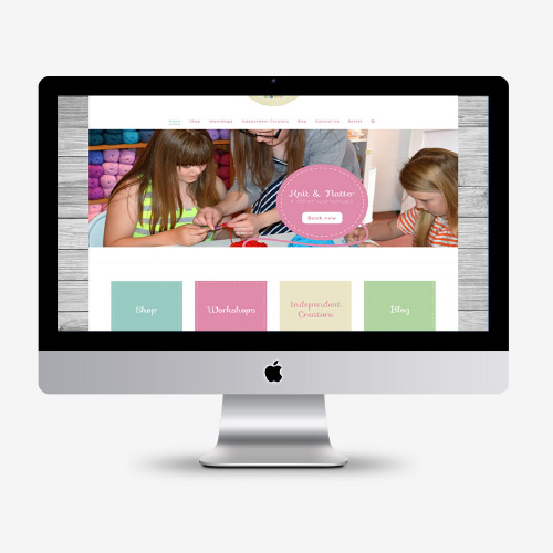 Website design - Slipped-stitch