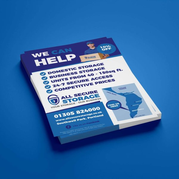 All secure Storage business cards