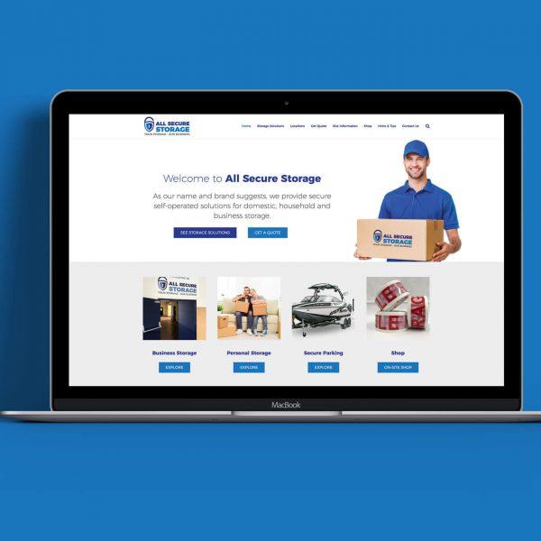 All-Secure-Storage-Website