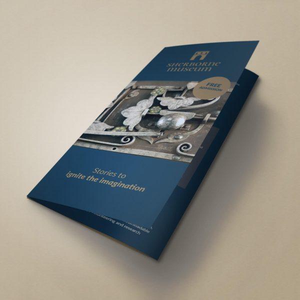 Sherborne-Museum-Trifold-Leaflet-front