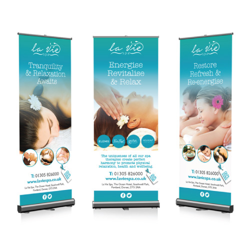 La-Vie-Spa-pull-up-banner