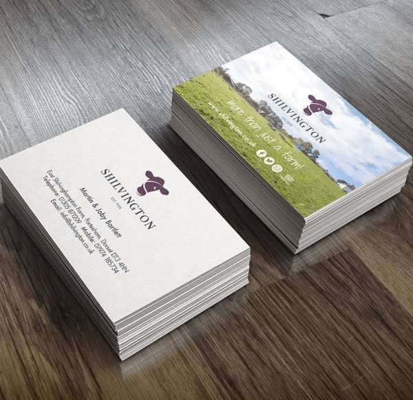 SHILVINGTON business cards