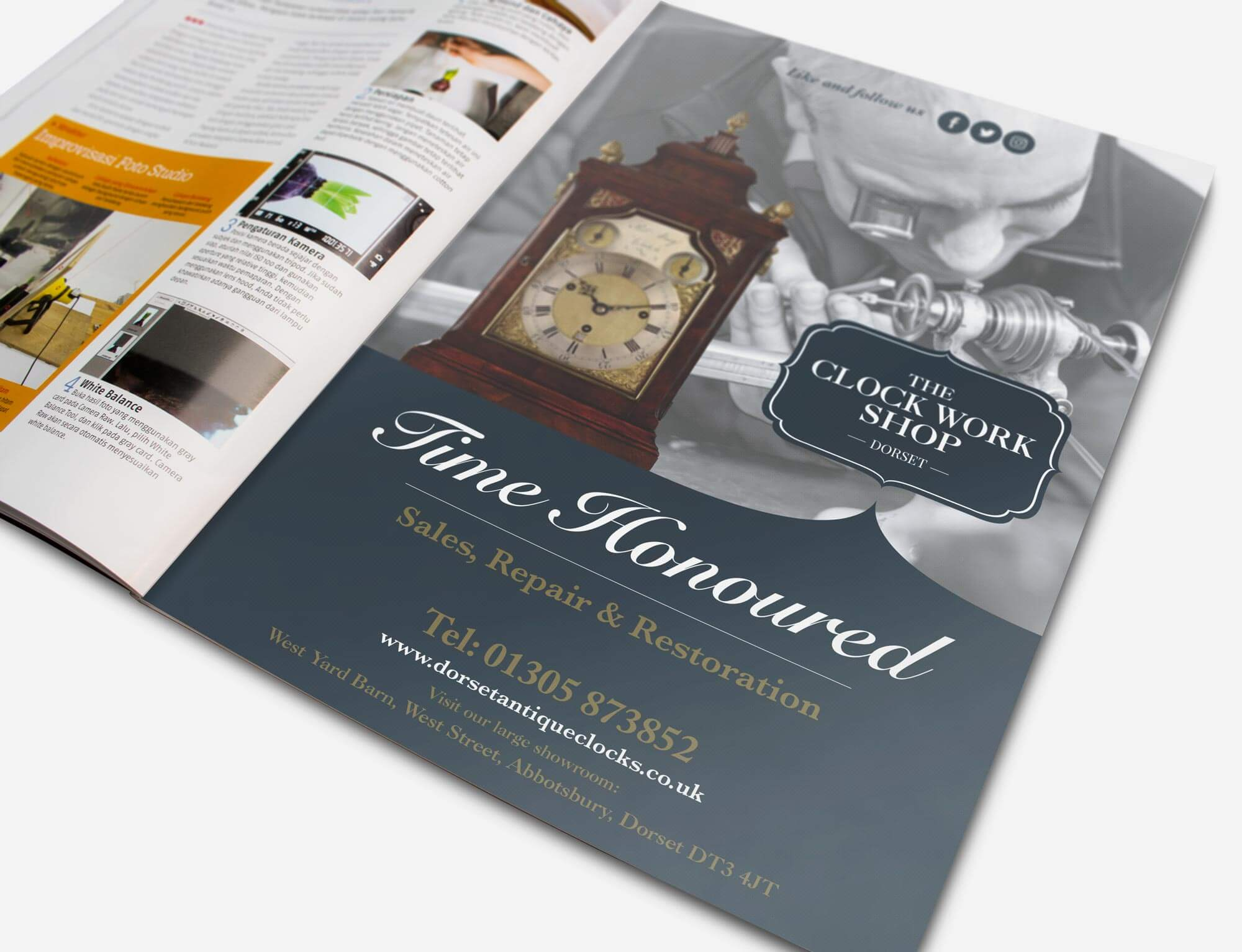 Clock-Work-shop-pull up banners
