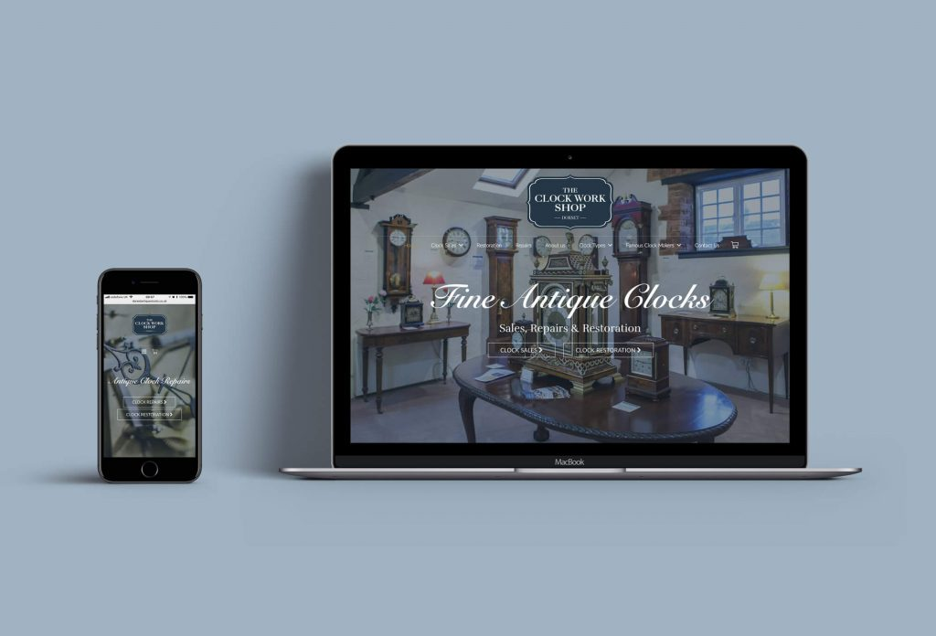 The-Clock-Work-Shop-website